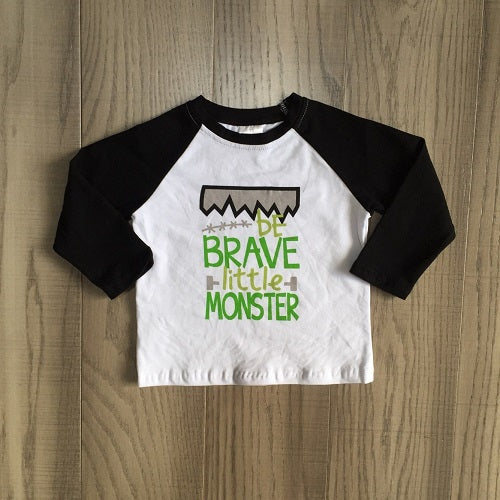 Brave Little Monster Raglan