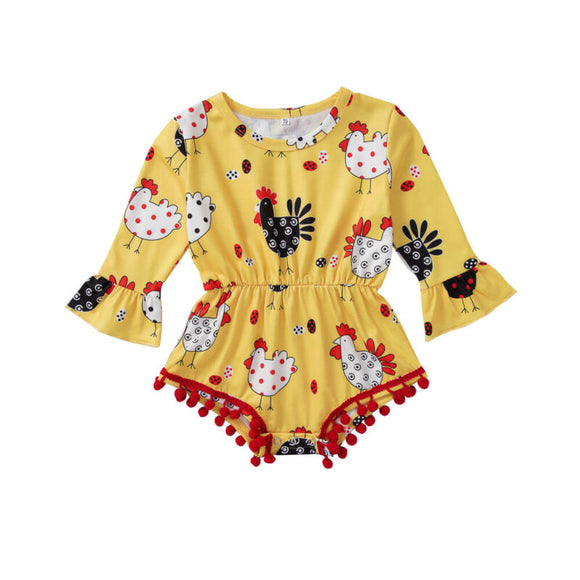 Chicken Romper - StarSailyrBoutique