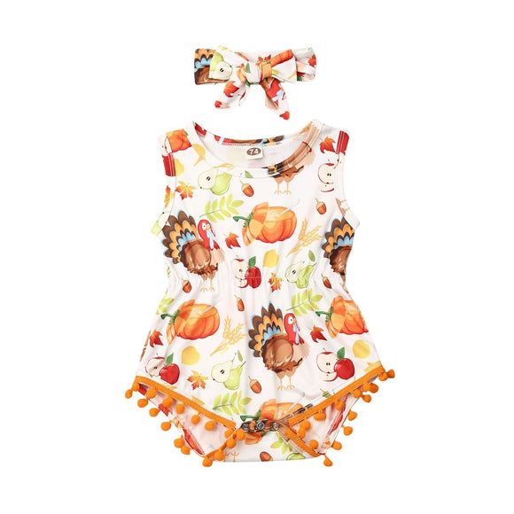 Thanksgiving Romper