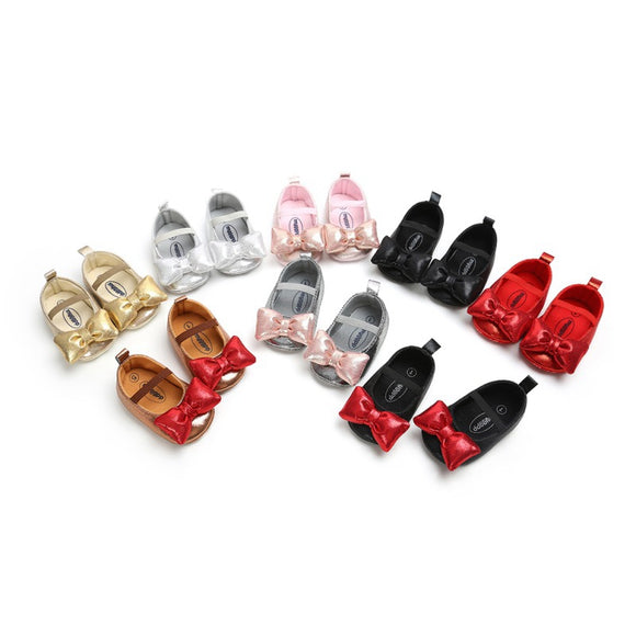 Bubble Bow Slipons - StarSailyrBoutique
