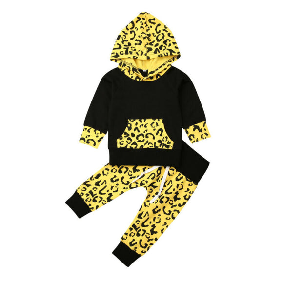 Hooded Leopard Set - StarSailyrBoutique