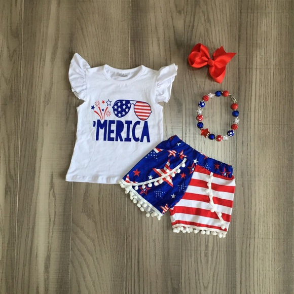 'Merica Set - StarSailyrBoutique