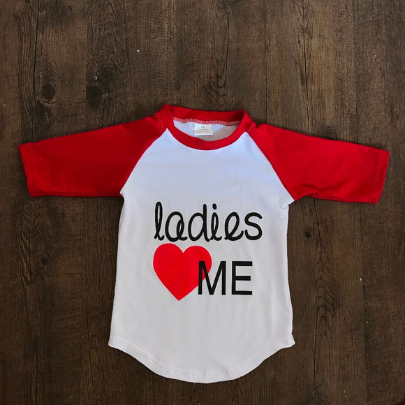 Ladies <3 Me Raglan - LIMITED AVAILABILITY - StarSailyrBoutique