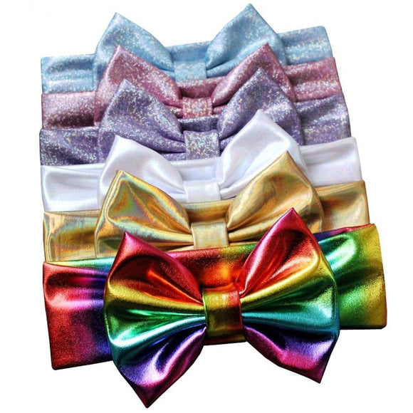 Shimmer Bow Headband - 24 Variations
