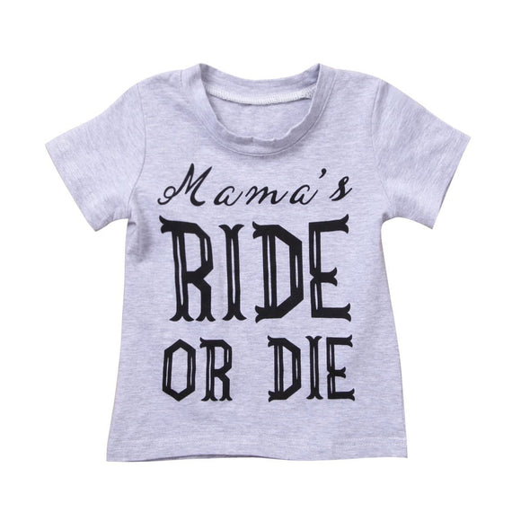 Mama's Ride or Die T-shirt