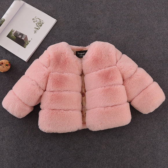 Luxurious Faux Fur Jacket