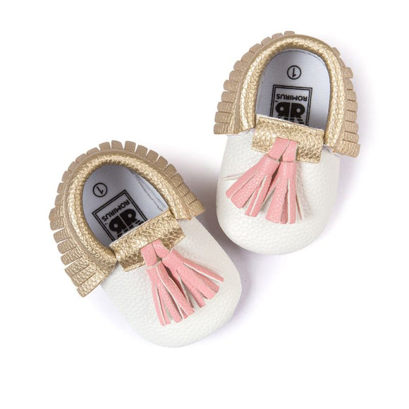 Baby Moccasins with Tassels -12 Variations