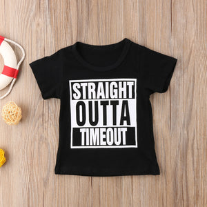 Straight Outta Timeout T-shirt