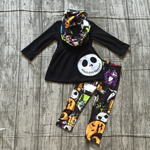 Nightmare Before Christmas Scarf Set