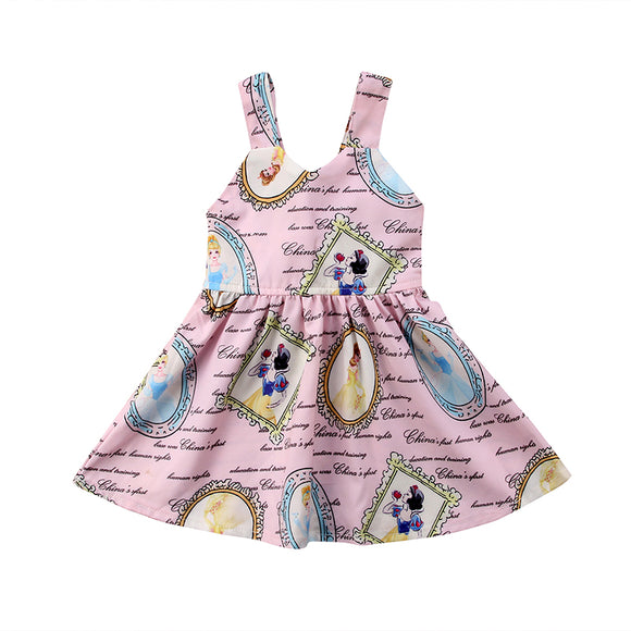 Adorable Princess Sleeveless Dress - StarSailyrBoutique