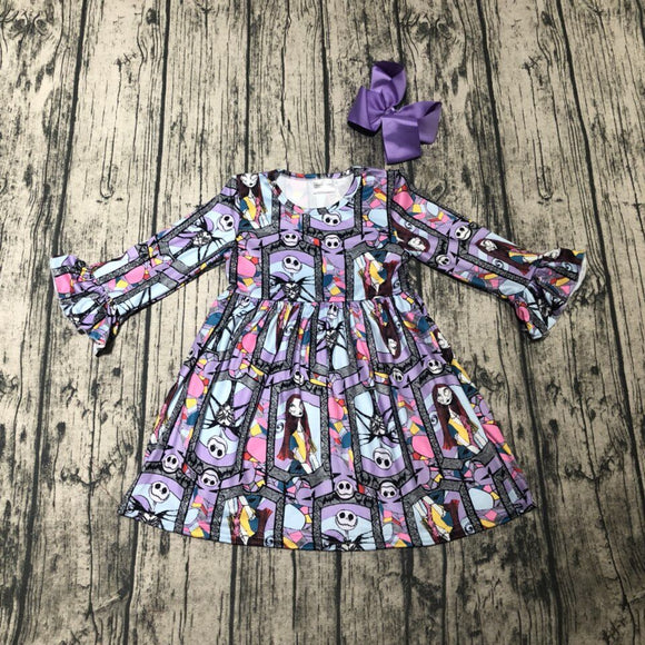 Nightmare Before Christmas Milk Silk Dress