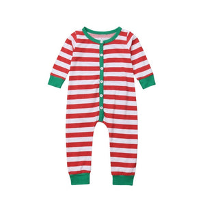 Mismatched Stripe Pajamas
