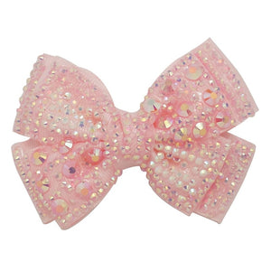 4in Twinkling Butterfly Bow - 6 Colors