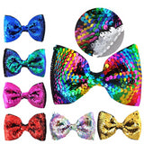Mermaid Sequin Bow - 18 Variations - StarSailyrBoutique