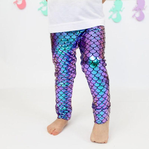 Shiny Mermaid Leggings