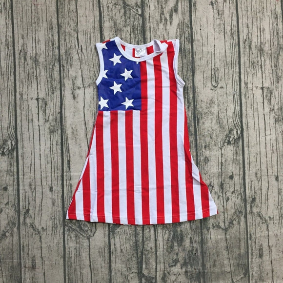 American Flag Dress - StarSailyrBoutique