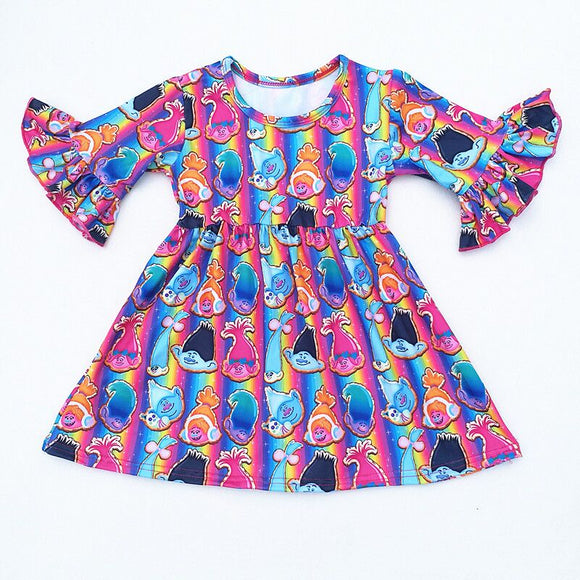 Trolls Milk Silk Dress