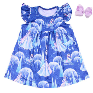 Elsa Milk Silk Dress