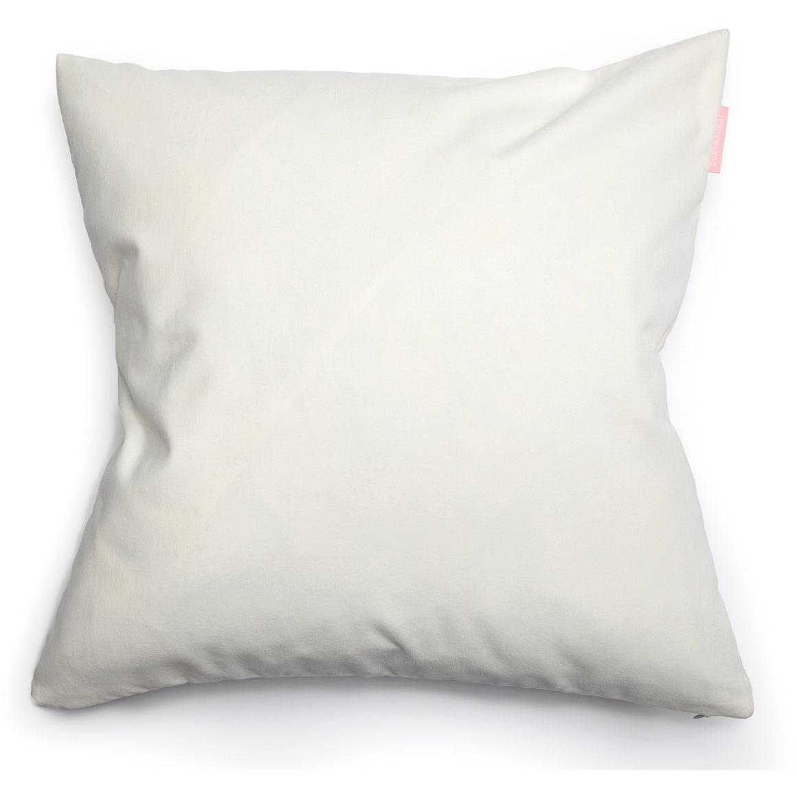 Modern Contemporary White Soft Velvet Pillow Cover