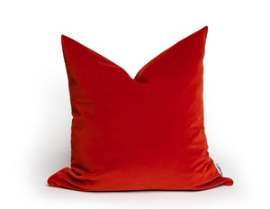 Modern Contemporary Burnt Orage Pillow Cover