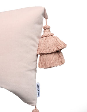Dusty Punk Pillows With Handmade Tassels