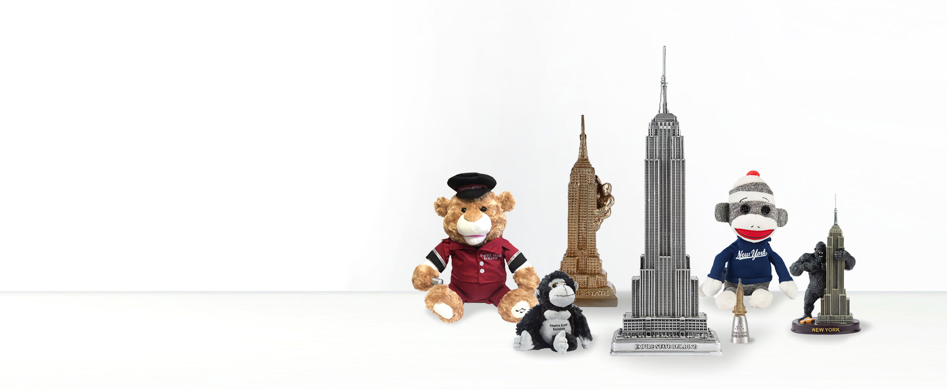 EMPIRE STATE BUILDING <br>  REPLICAS & GIFTS