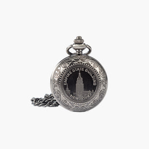Empire State Building Pocket Watch