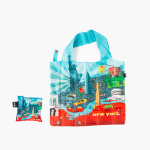 LOQI New York Print Tote Bag