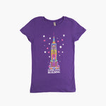 Kids' Bright Empire State Tee