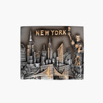 NYC Pewter Magnet