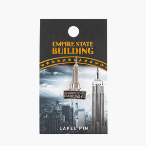 Empire Pewter Lapel Pin