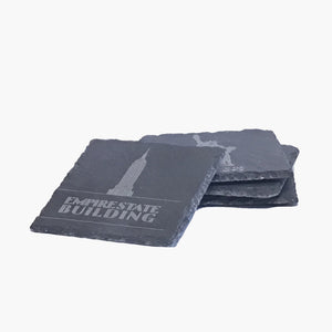 Slate Coaster 4 Piece Set