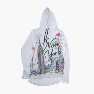 Ladies' New York Sketch Pullover
