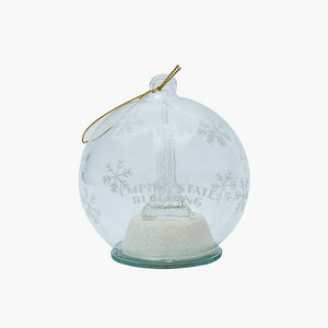 Empire Glass LED Ornament