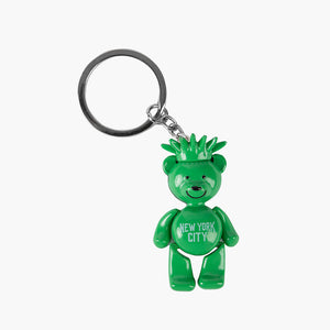 Statue of Liberty Bear Key Chain