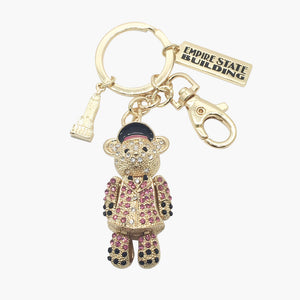 Sparkling ESB Doorman Bear Key Chain