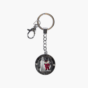 Spinning ESB Doorman Bear Key Chain