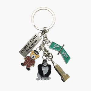 Kong & Doorman Bear Dangle Key Chain