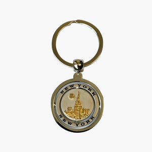 ESB Double Spinner Key Chain