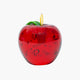 Glass Red Apple