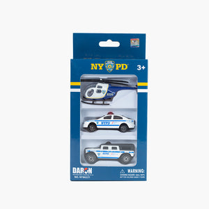 NYPD 3 Pack Die-cast Set