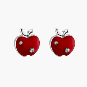 NYC Apple Stud Earrings