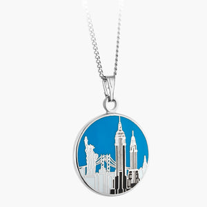 Empire State Skyline Necklace