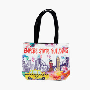 Watercolor Doorman Tote Bag