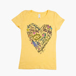 Kids' ESB Scribble Heart Tee