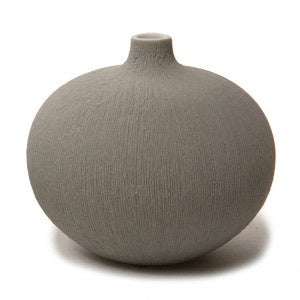 Funkis - Lindform Vase Bari Light Grey - Medium - 7.5cm