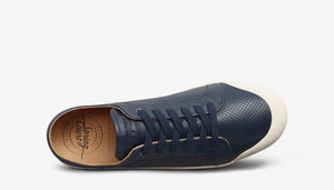 Spring Court G2S 6002 Punch Leather Midnight Blue  Low