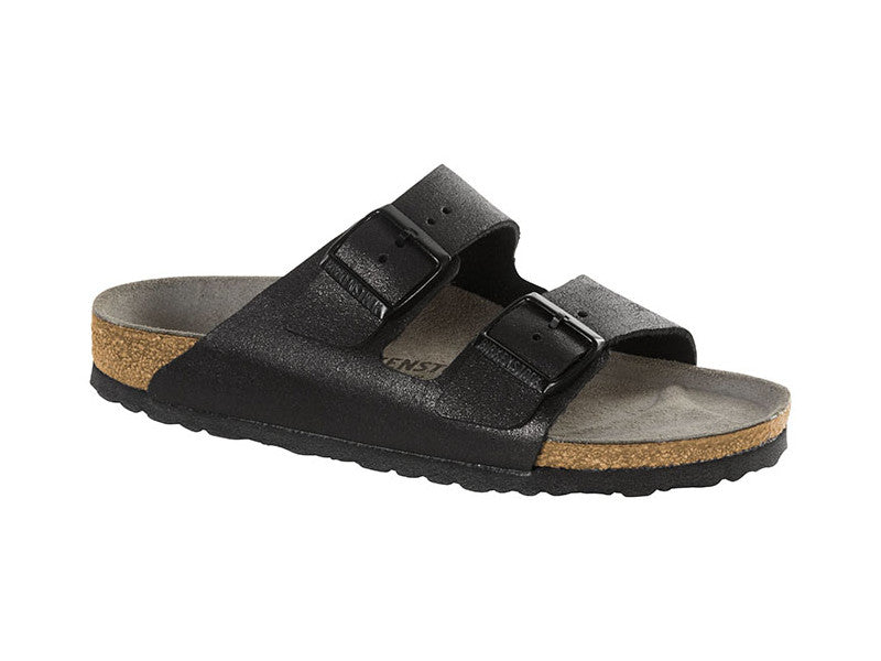 BIRKENSTOCK Arizona Washed Metallic Antique Black