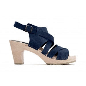 Funkis Ulla Clog Super High Navy