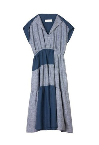 Brigid Mclaughlin Mimi Dress Two-Tone